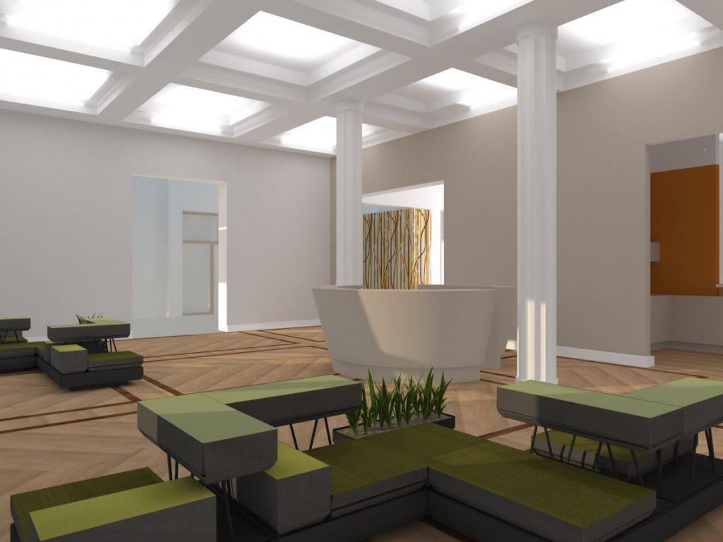 3D-Rendering aus der Planungsphase