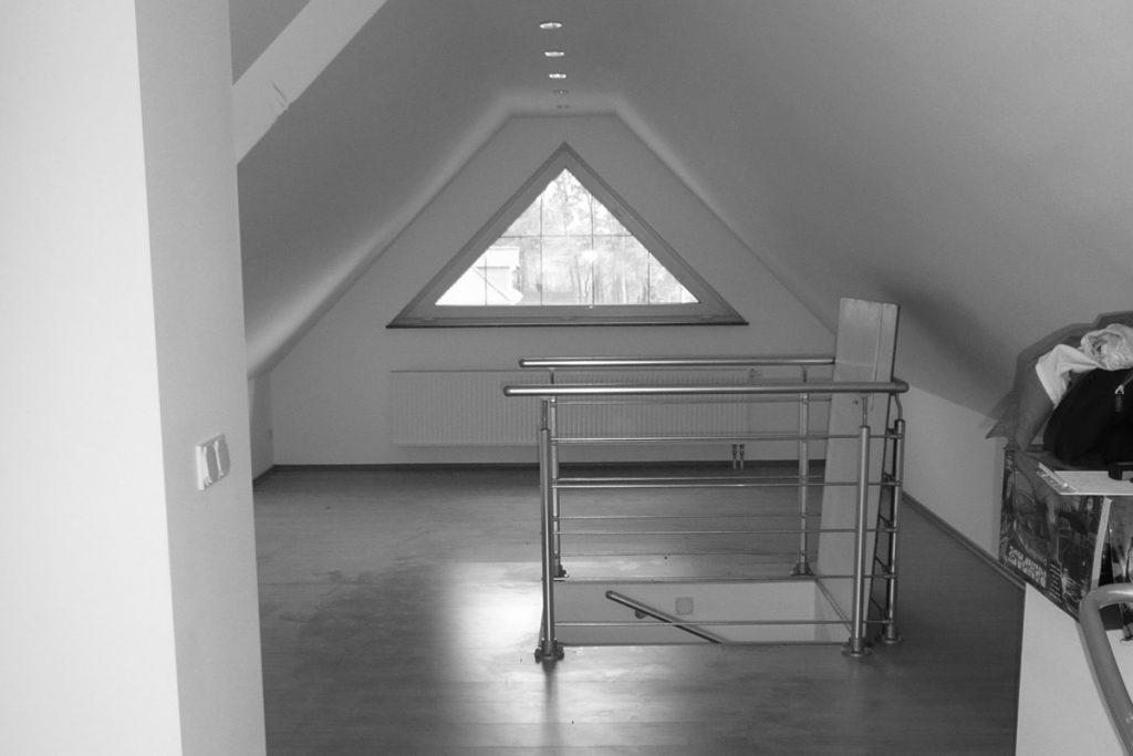 Projektbeispiel Dachgeschoss: Vorher