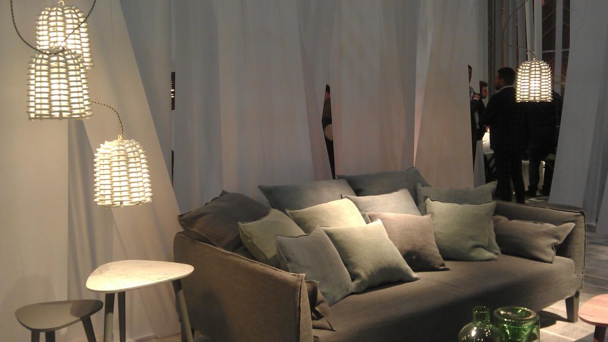 """Interieurs in Greige auf der Pariser Möbelmesse """"Maison & Objet"""""""