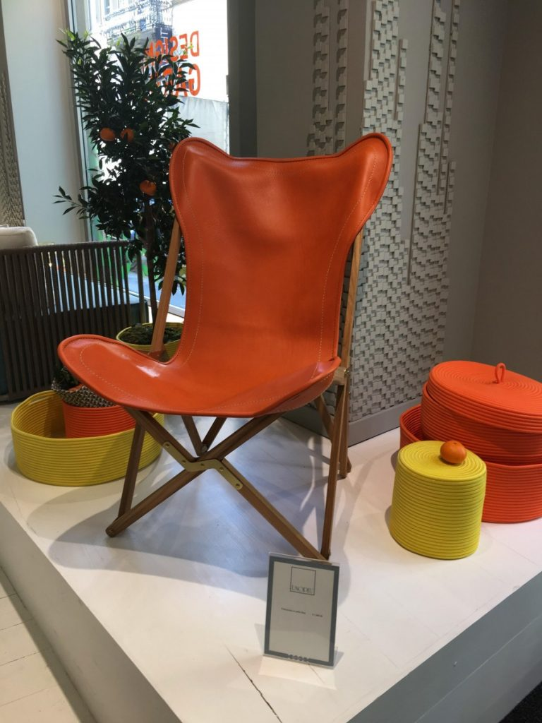 Showroom von Unopiu beim Salone del Mobile in Mailand 2017