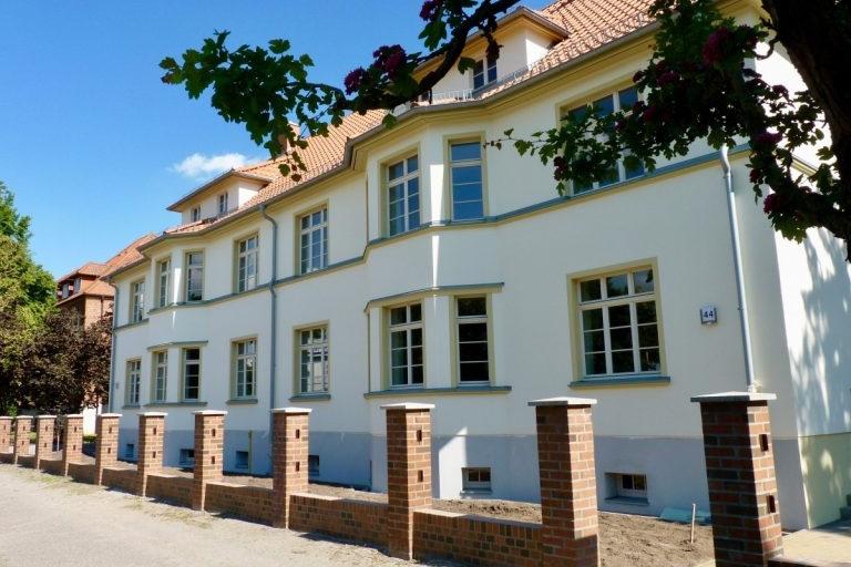 """Sanierung eines historischen """"Gartenhauses"""" in Prenzlau"""
