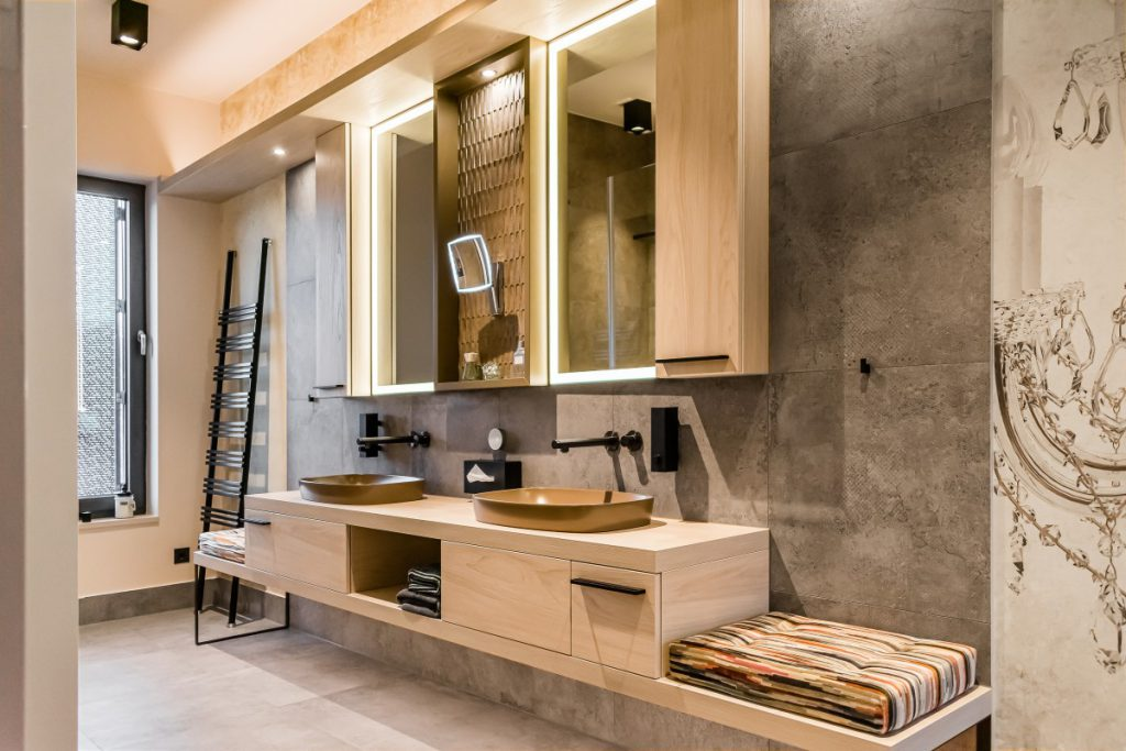 Elternbad – Interior Design