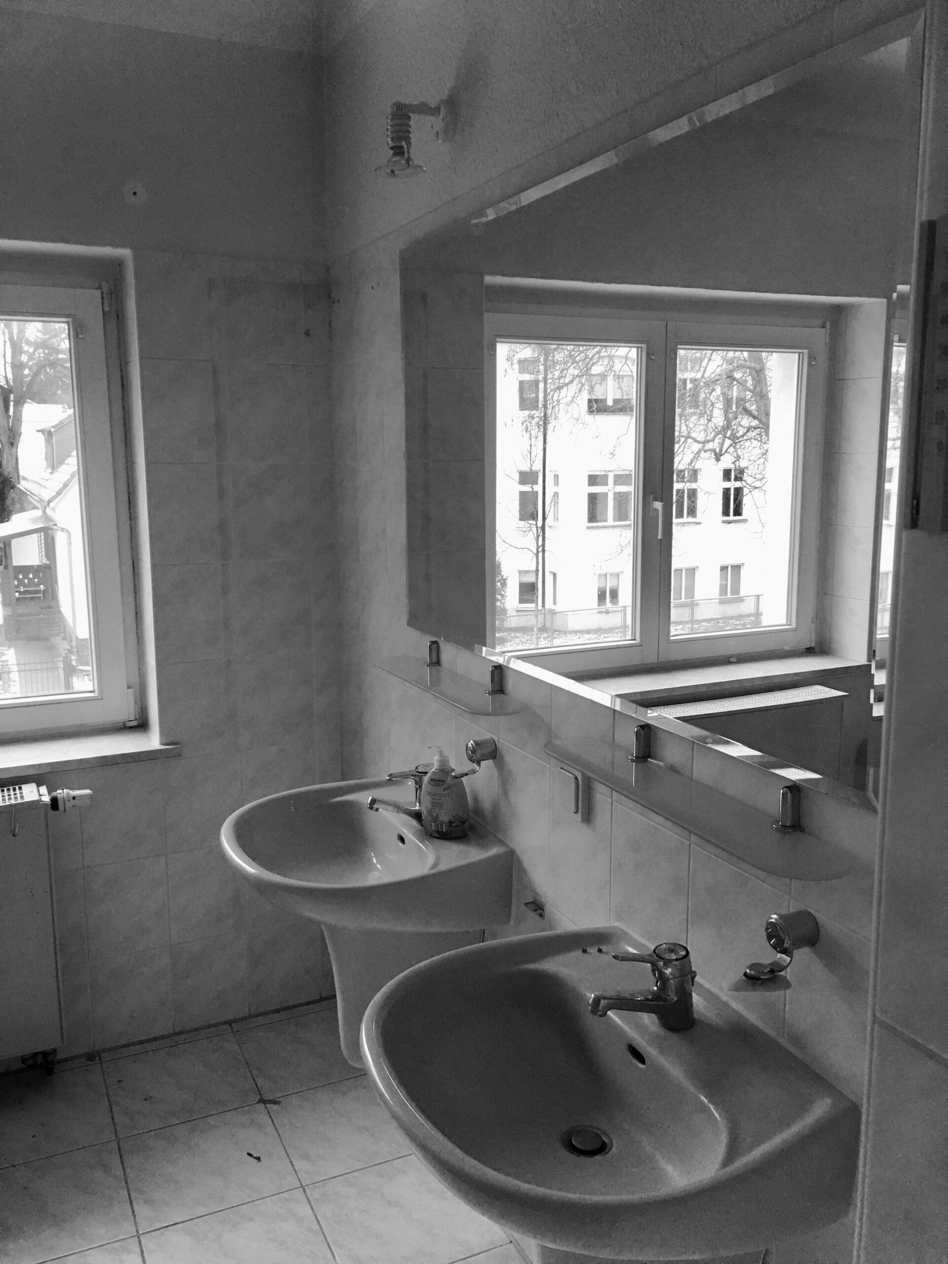 Alter Waschplatz