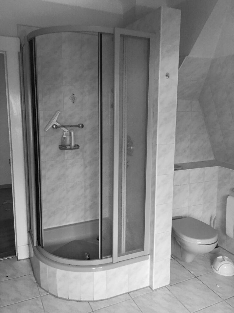 Alte Dusche