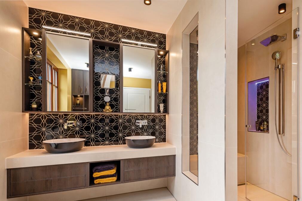 Bad-Umbau mit begehbarer Dusche